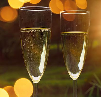 Champagne et vins pétillants