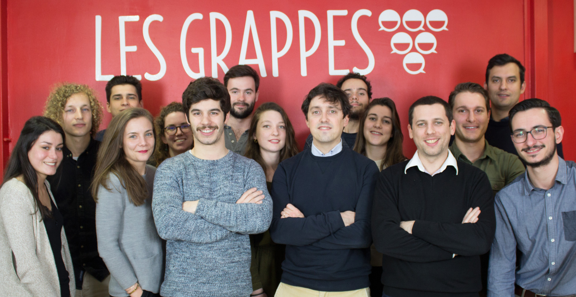 les grappes recrute !
