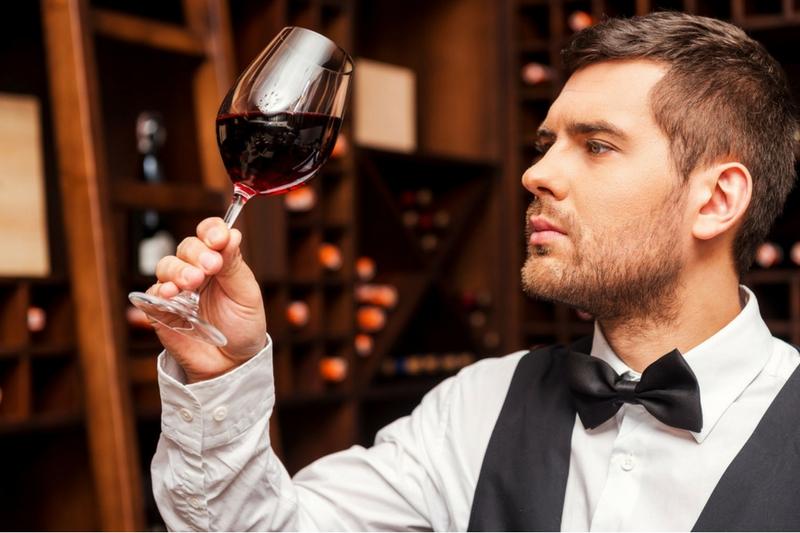 analyse de la robe du vin