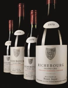 6b1922765d4cb Henri Jayer, Richebourg Grand Cru – Bourgogne rouge, France / Prix moyen :  $16 905