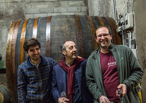 degustation vin theophile milan - domaine henri milan - provence