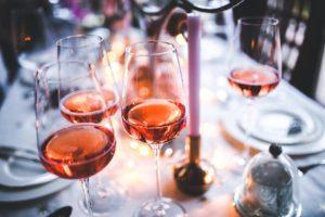 verres de rosés
